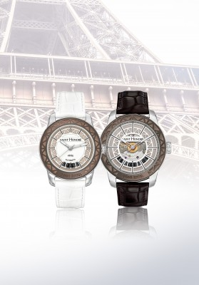 SAINT HONORE_TOUR EIFFEL_Duo Lady & Gent steel
